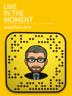 Live in the Moment - Snapchat